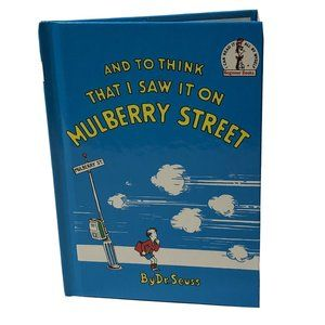 I Saw it on Mulberry St. Dr. Seuss book 1964